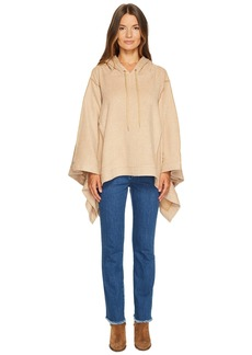 See by Chloé Double Face Jersey Poncho