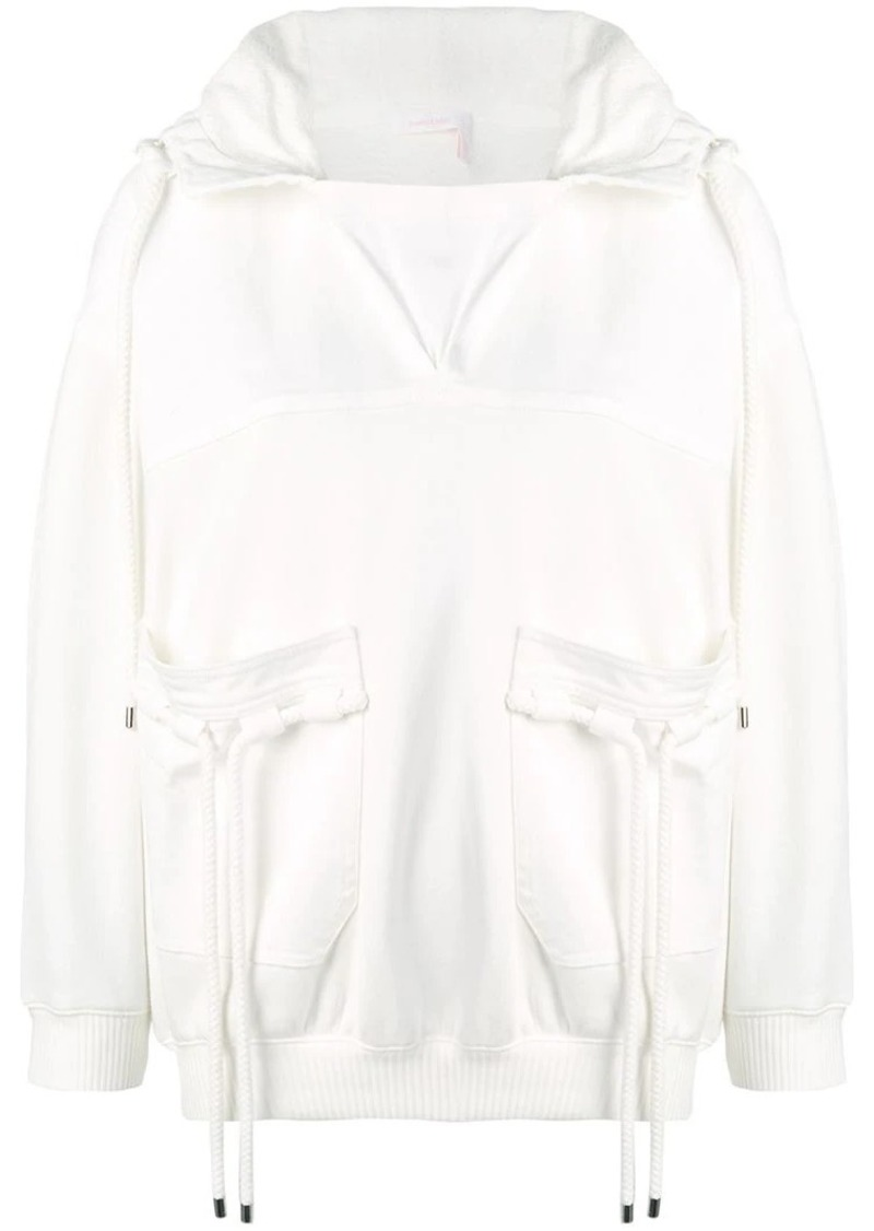 See by Chloé drawstring hooded sweater