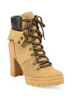 See by Chloé Eileen Platform Construction Boots