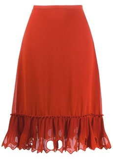 See by Chloé embellished hem skirt
