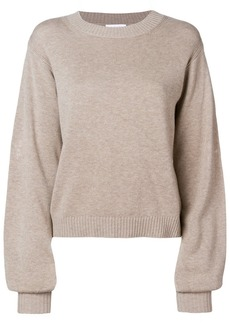 See by Chloé embroidered detail sweater