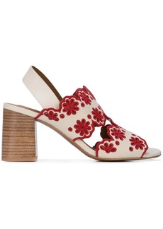 See by Chloé embroidered flower sandals