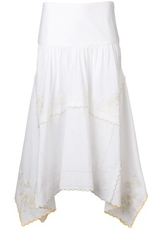 See by Chloé embroidered napkin skirt