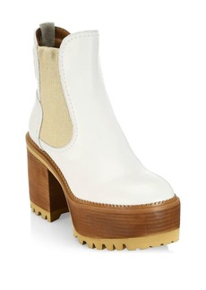See by Chloé Erika Platform Leather Booties