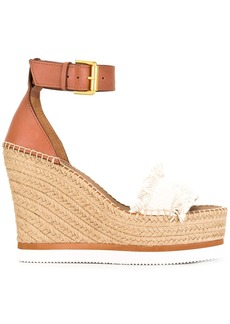 See by Chloé espadrille wedge sandals