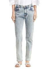 See by Chloé Faded Straight Jeans