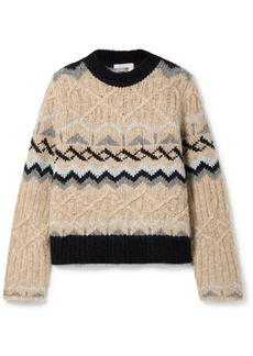 See by Chloé Fair Isle Knitted Sweater