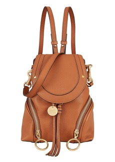 See by Chloé Faye Brown Backpack