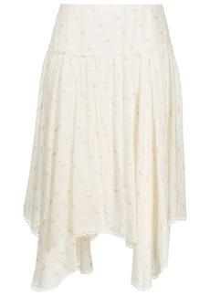 See by Chloé fil coupé skirt