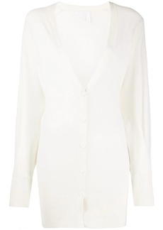 See by Chloé fine-knit long cardigan