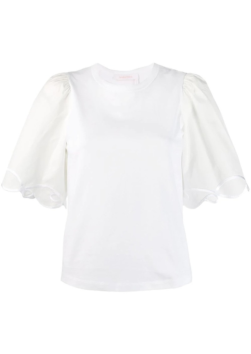 See by Chloé flared sleeves T-shirt