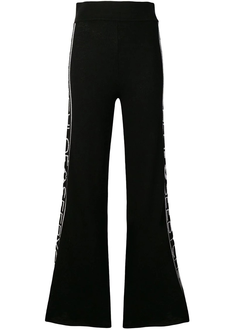 See by Chloé flared track pants