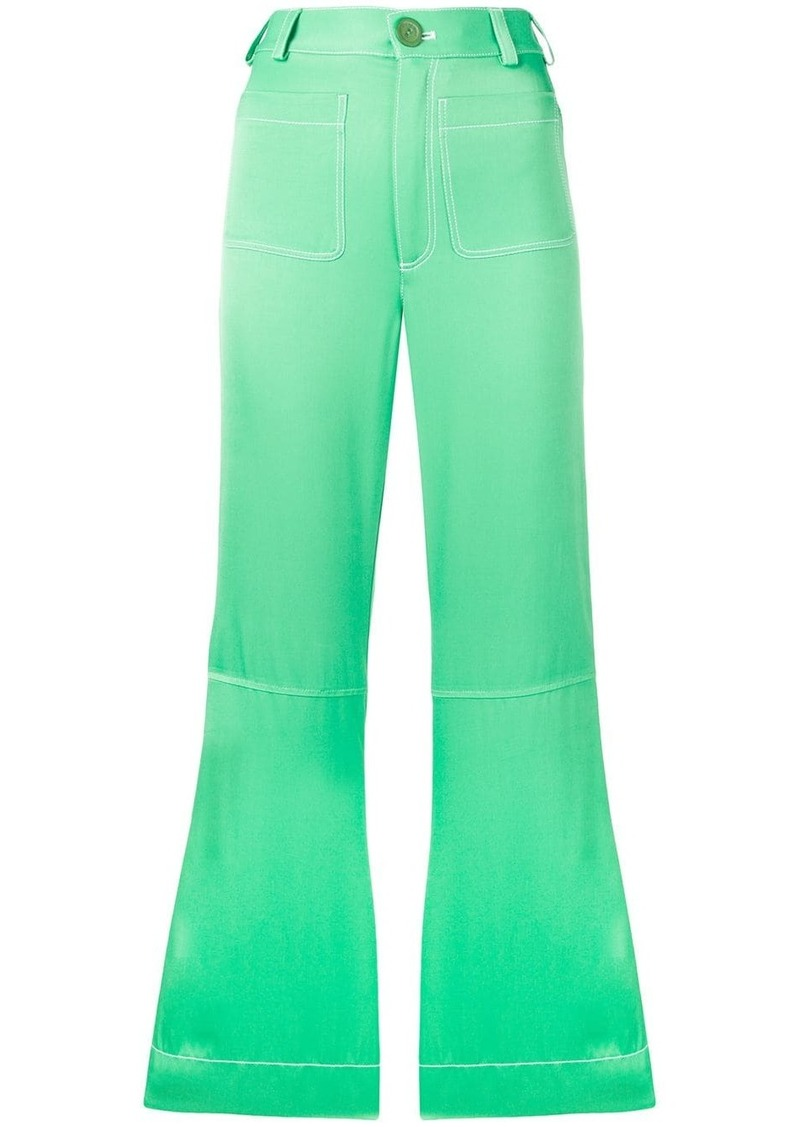 See by Chloé flared trousers