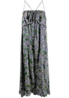See by Chloé floral print maxi dress