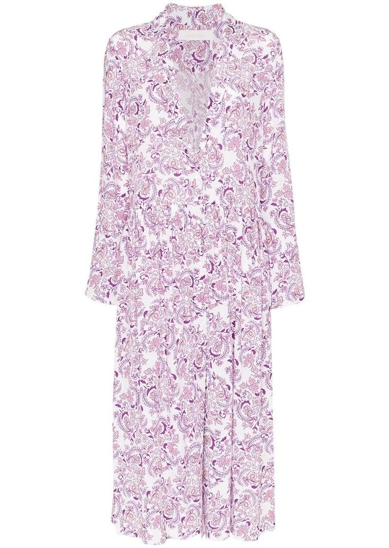 See by Chloé floral print shirt dress