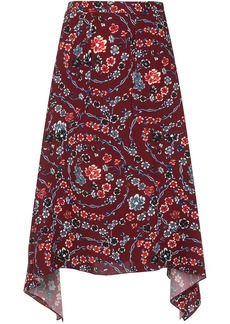 See by Chloé floral skirt