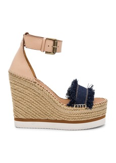 See by Chloé Frayed Wedge