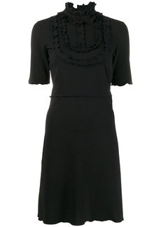 See by Chloé frill bib dress