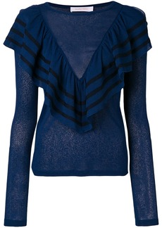 See by Chloé frill detail sweater