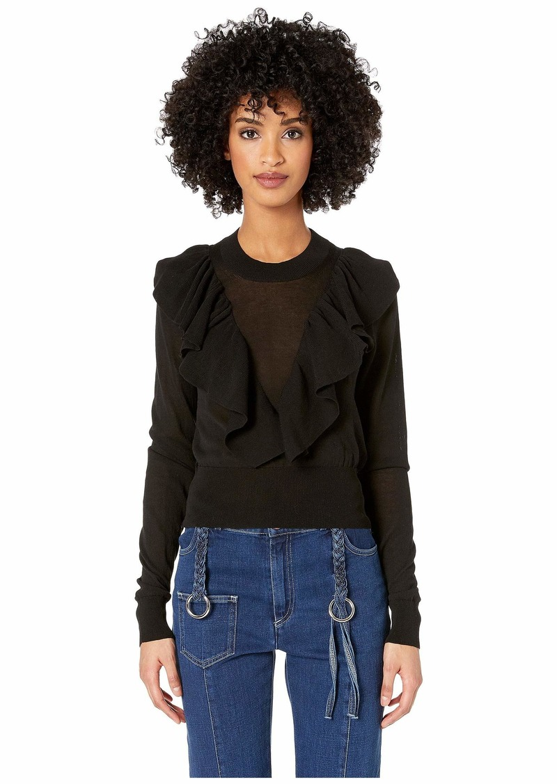 See by Chloé Frilly Knit Sweater
