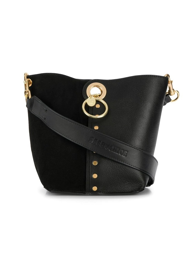 See by Chloé Gaia panelled tote bag
