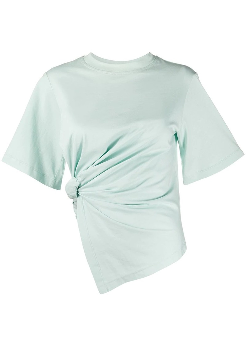 See by Chloé gathered T-shirt