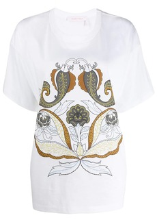 See by Chloé giant paisley print T-shirt