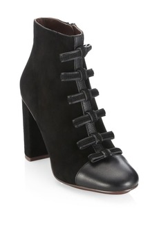 See by Chloé Gisel Bow Booties