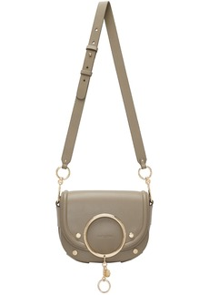 See by Chloé Grey Mara Crossbody Bag