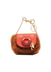 See by Chloé Hana faux-fur detail mini bag