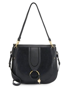 See by Chloé Hana Large Leather Saddle Bag