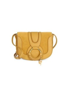 See by Chloé Hana Leather & Suede Saddle Bag