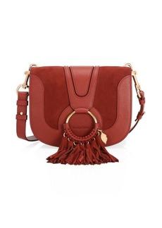 See by Chloé Hana Leather Medium Saddle Bag