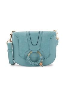 See by Chloé Hana Leather O-Ring Saddle Bag