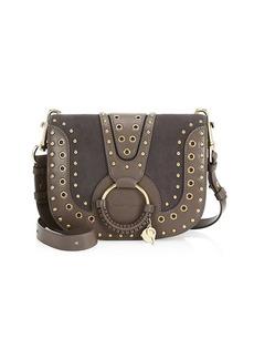 See by Chloé Hana Leather Shoulder Saddle Bag