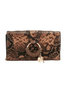 See by Chloé Hana long wallet on chain