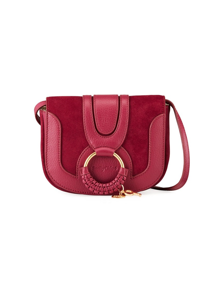 See by Chloé Hana Mini Leather/Suede Shoulder Bag