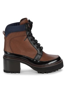 See by Chloé Hayden Lug-Sole Leather Hiking Boots