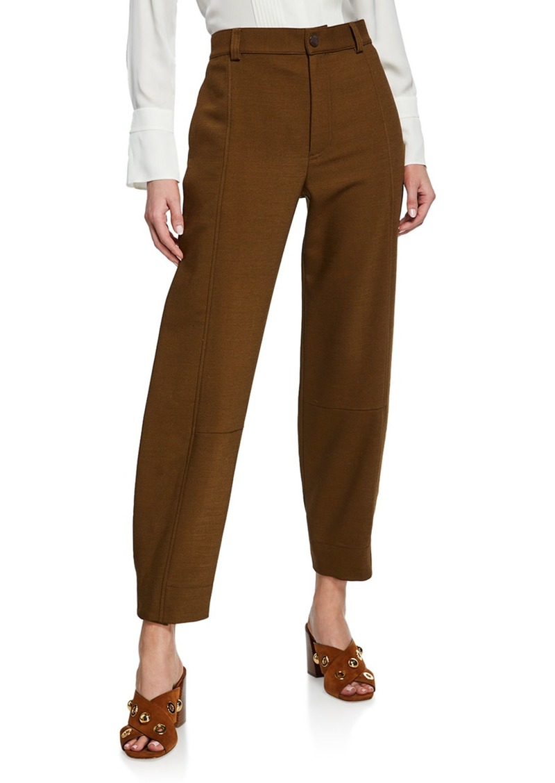 See by Chloé High-Rise Ankle Pants
