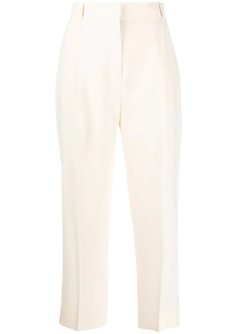See by Chloé high-rise cropped trousers