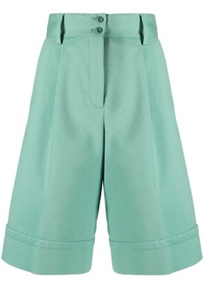 See by Chloé high-rise knee-length shorts