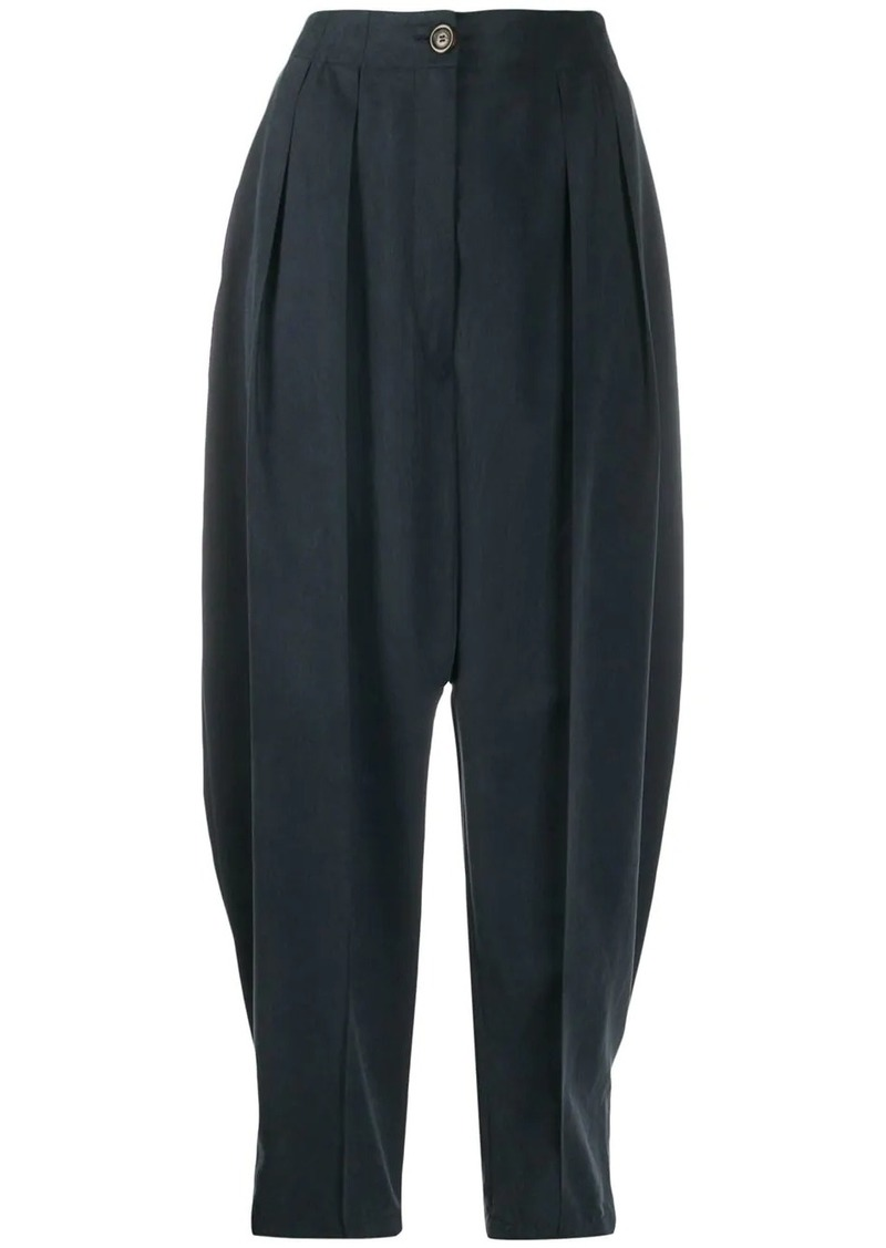 See by Chloé high-rise tapered trousers