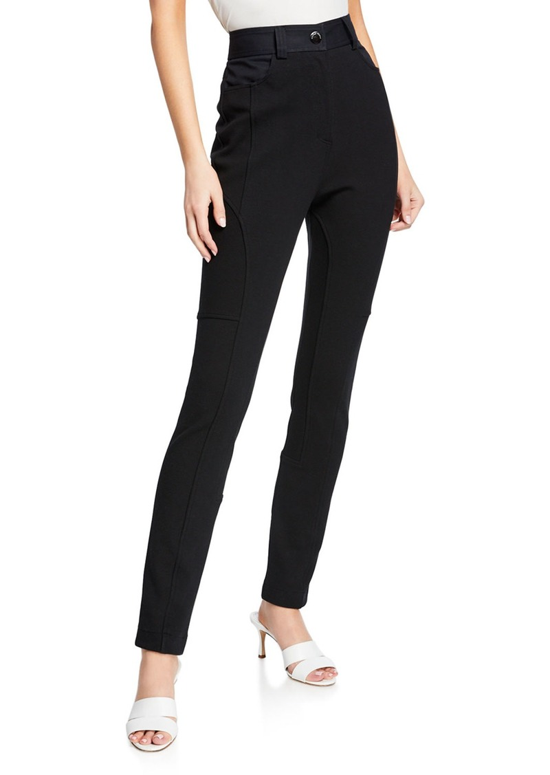 See by Chloé High-Waist Skinny Ankle Pants