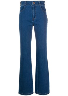 See by Chloé high-waisted bootcut jeans