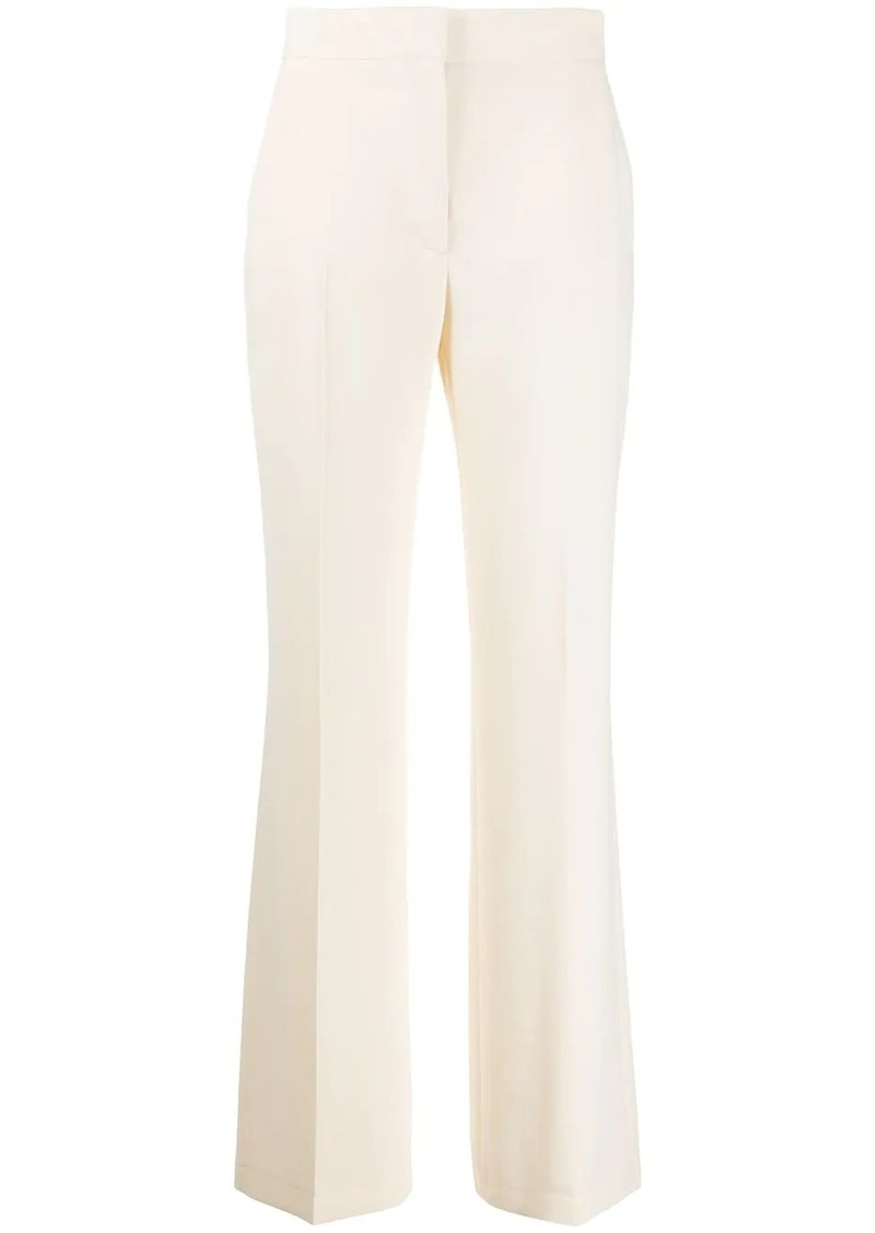 See by Chloé high-waisted front pleat trousers
