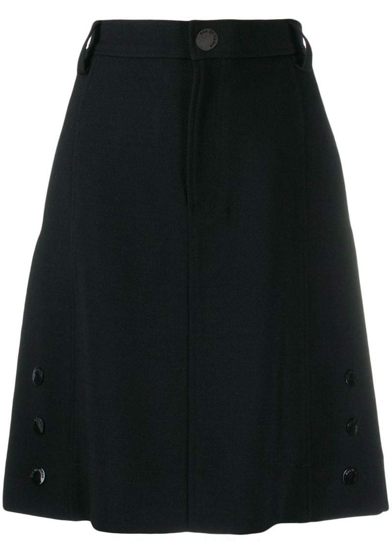 See by Chloé high waisted tailored skirt