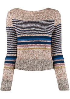 See by Chloé horizontal stripes jumper