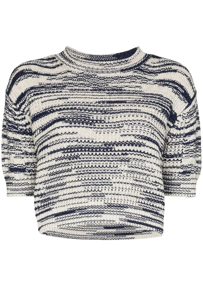 See by Chloé intarsia knit jumper