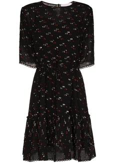 See by Chloé jacquard mini-dress