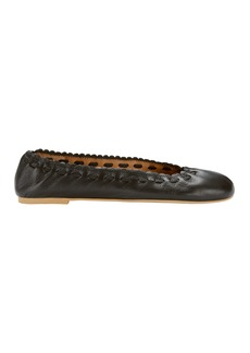See by Chloé Jane Leather Ballet Flats